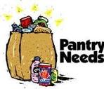 Food Pantry Needs for November